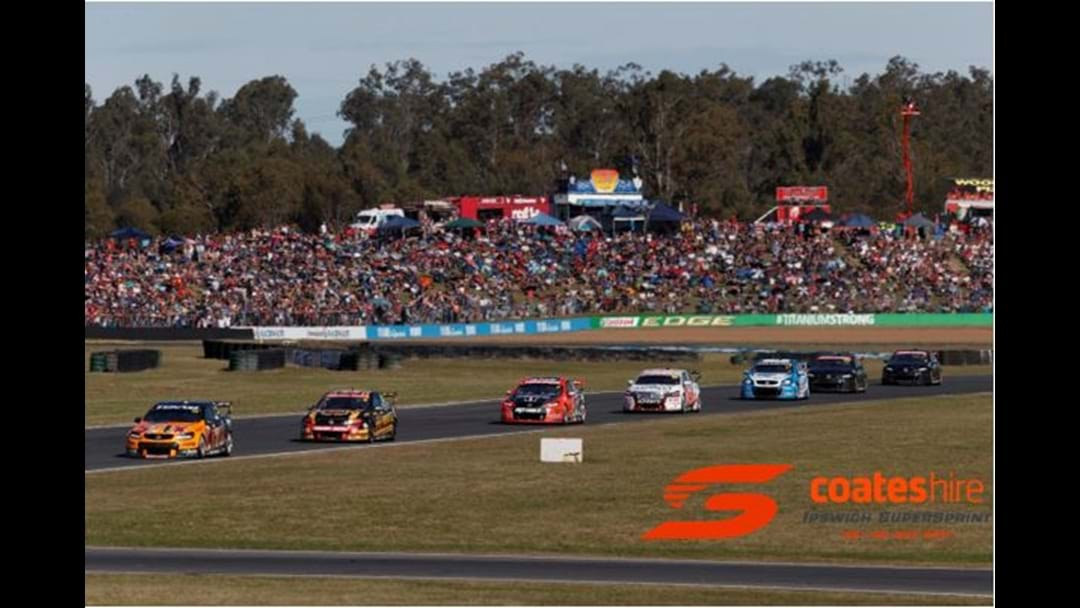 Win your way to the Supercars Coates Ipswich Supersprint!