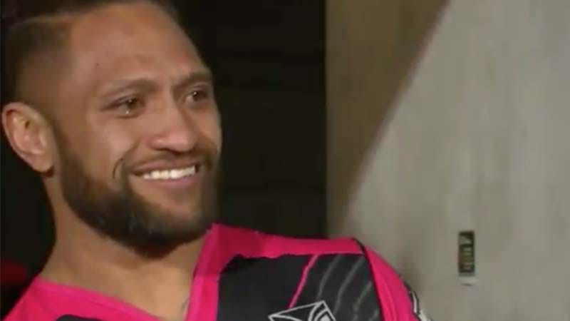 Teary-eyed Manu Vatuvei given guard of honour as Warriors farewell legend