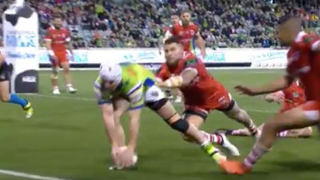 Watch This Spectacularly Bombed Try By Jarrod Croker