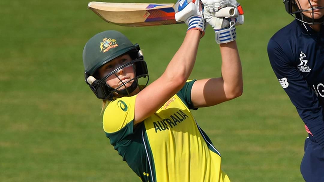Ellyse Perry Is Absolutely Crushing It With The Bat