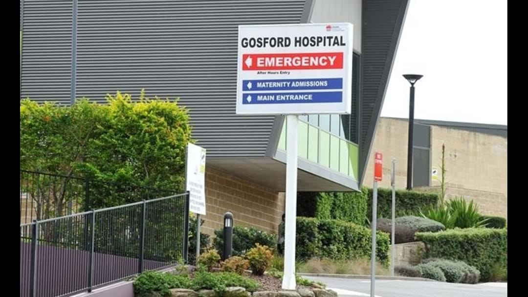 Man charged after stealing Gosford hospital patient's phone