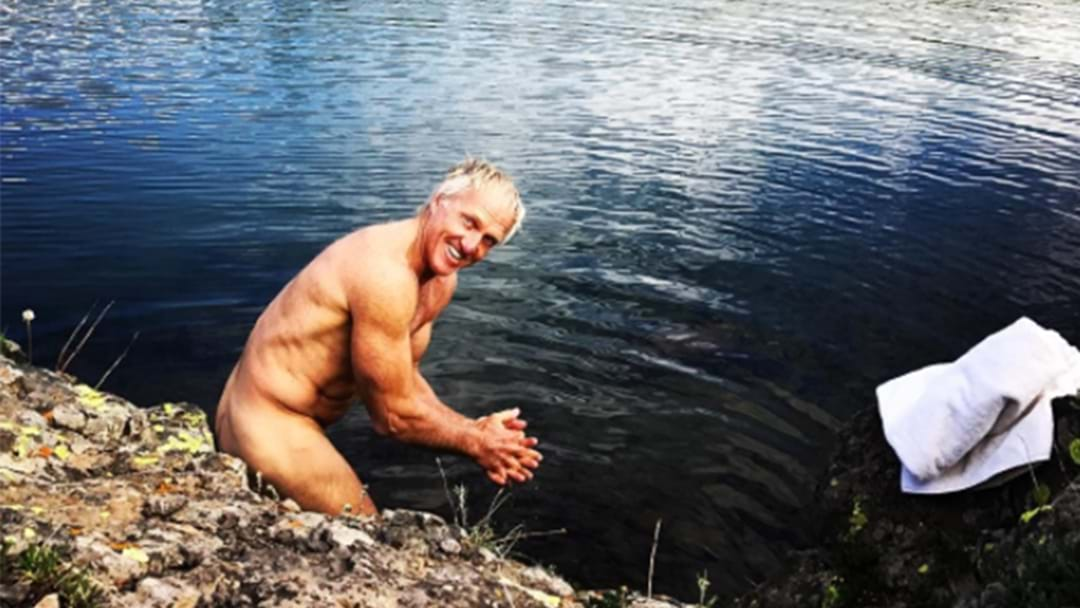 Greg Norman Explains The Story Behind His Bizarre Nude Instagram