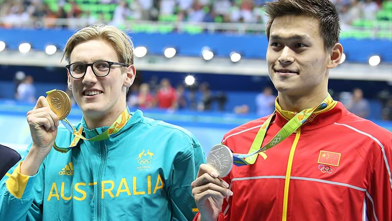 Sun avenges Rio rival Horton with 400m free world title