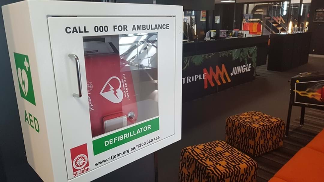 How To Get A Defibrillator For Your Footy Club