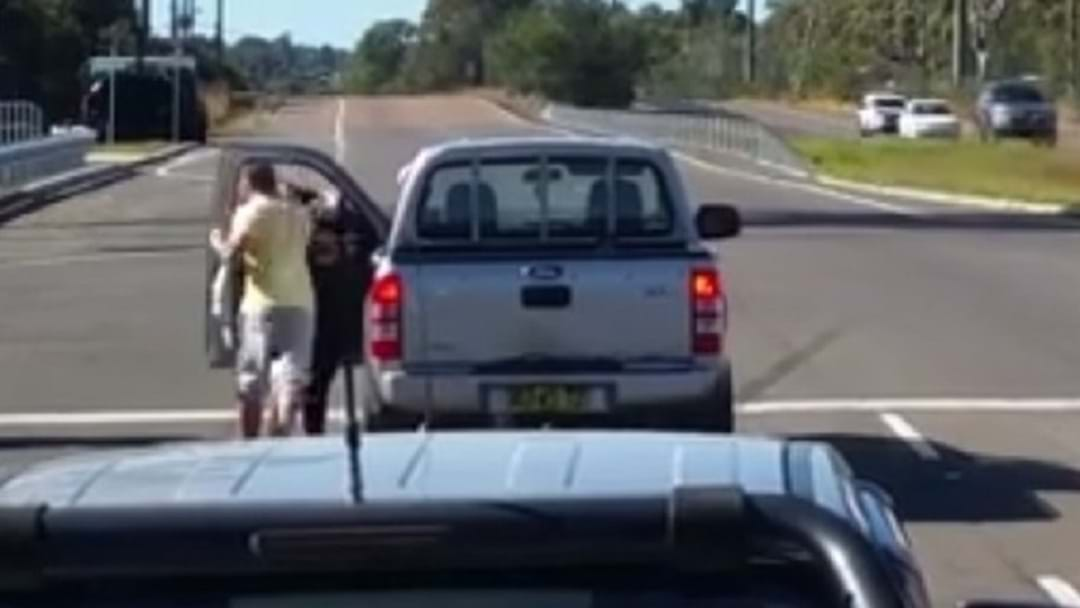 Man Filmed Punching Woman In Road Rage Attack