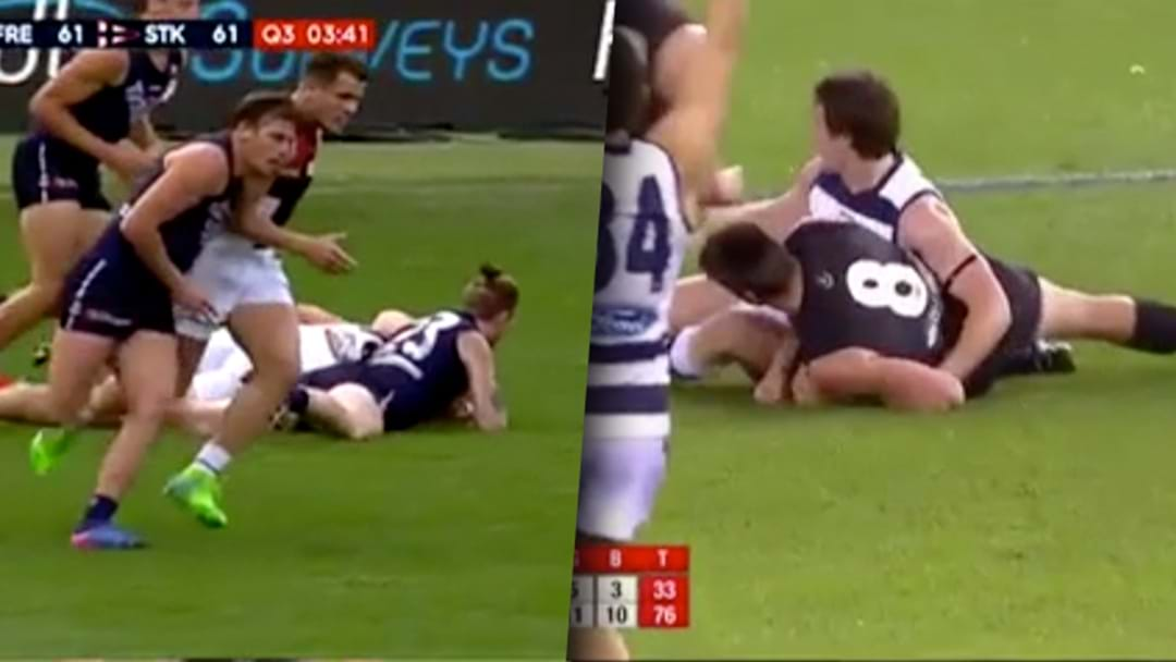 Side-By-Side Comparison Suggests Patrick Dangerfield Might Be In Trouble