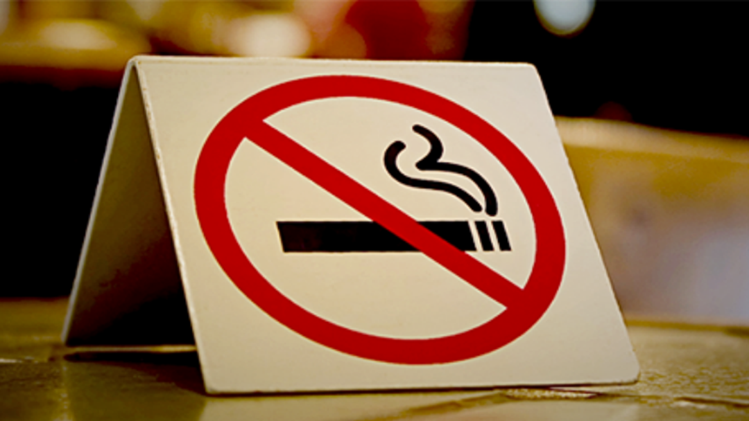 No Smoking In Outdoor Dining Areas From Today