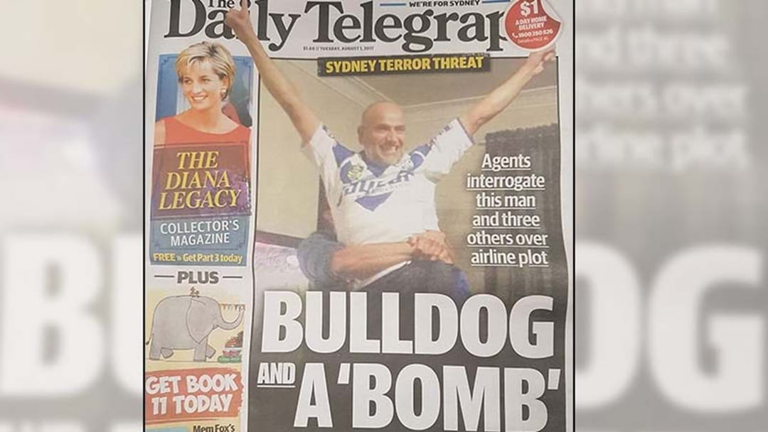 The Bulldogs Have Released A Statement Regarding This Morning's Daily Telegraph
