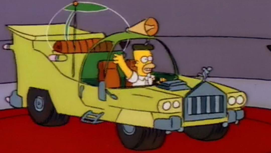 Simpsons Nerd Brings The Car Homer Designed To Life