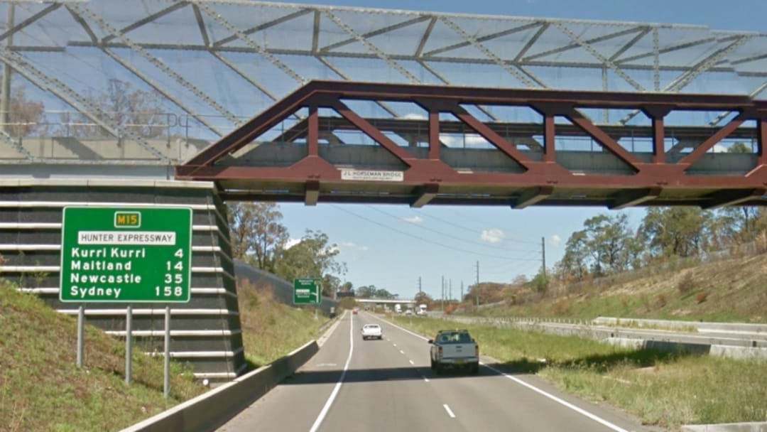 Two Boys Arrested For Throwing Rocks at Hunter Expressway Traffic