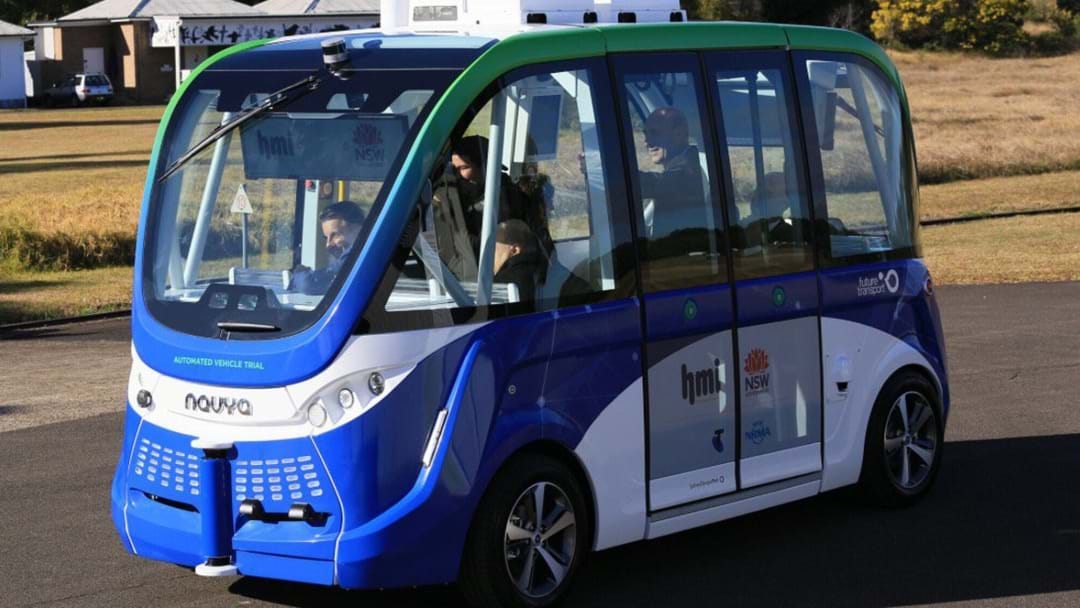 The Future Is Here As Sydney Gets Its First Driverless Bus