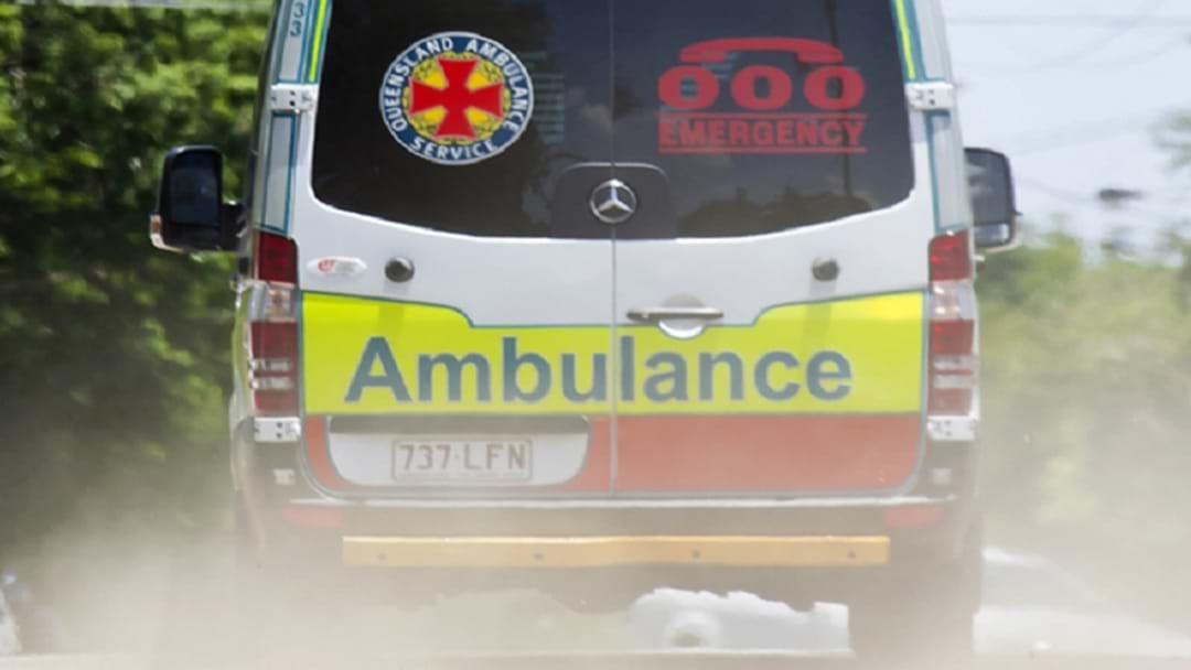 Woman In a Serious Condition after Motorbike and Truck Crash