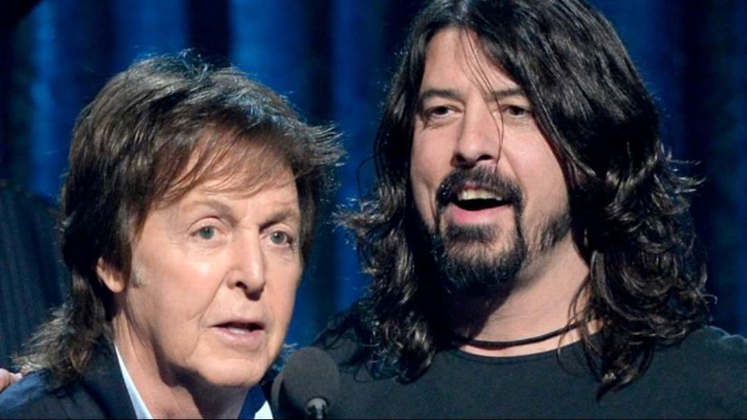 Paul McCartney Played Drums On New Foo Fighters Song Without Hearing It