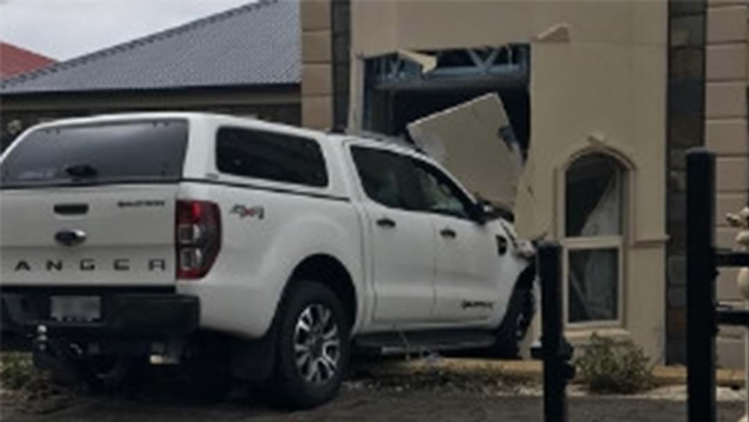 A Car Has Ploughed Into A House In North-East Adelaide