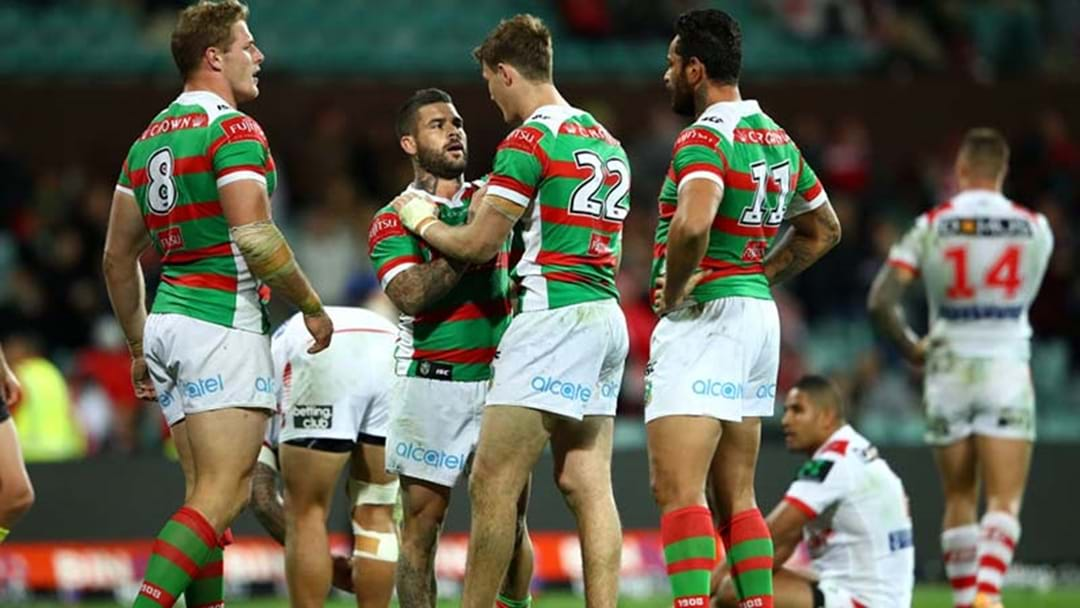 Rabbitohs Rookie Had The Week Off To Do School Exams