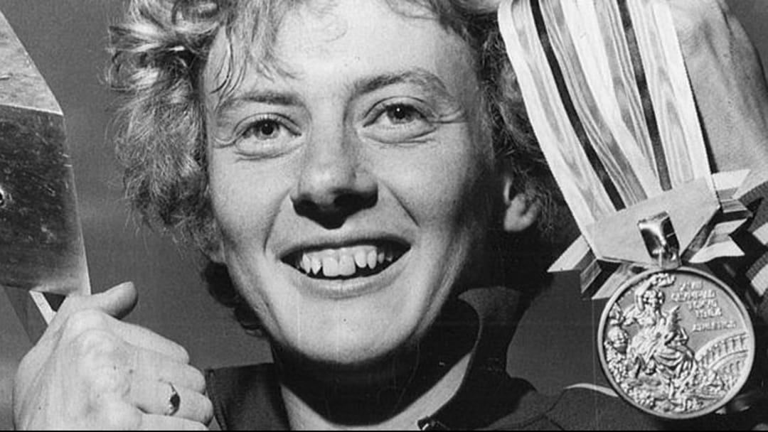 Albany Olympian's tribute to Betty Cuthbert