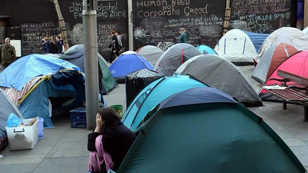 NSW Government Bracing To Intervene On Sydney's Tent City