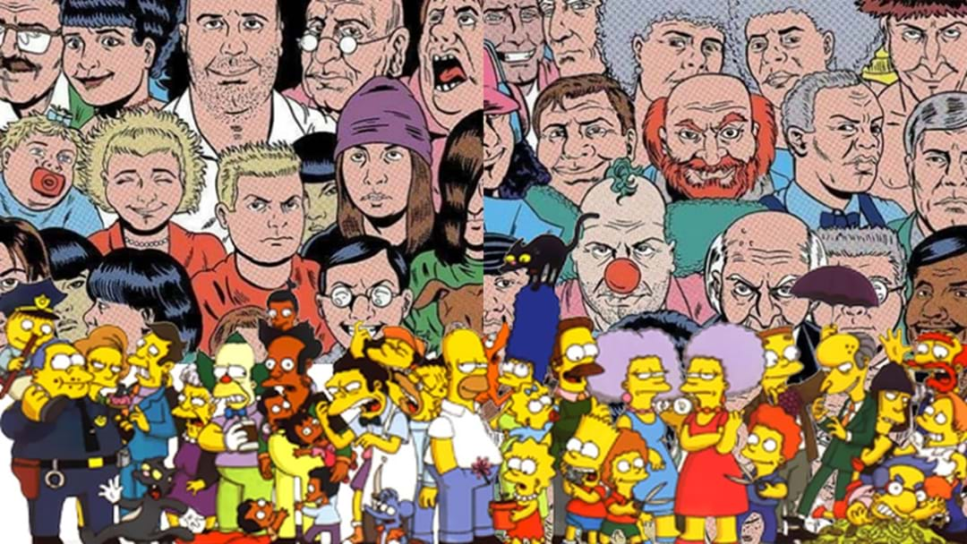 This Simpsons Art Is A Must See For Any Self Respecting Fan