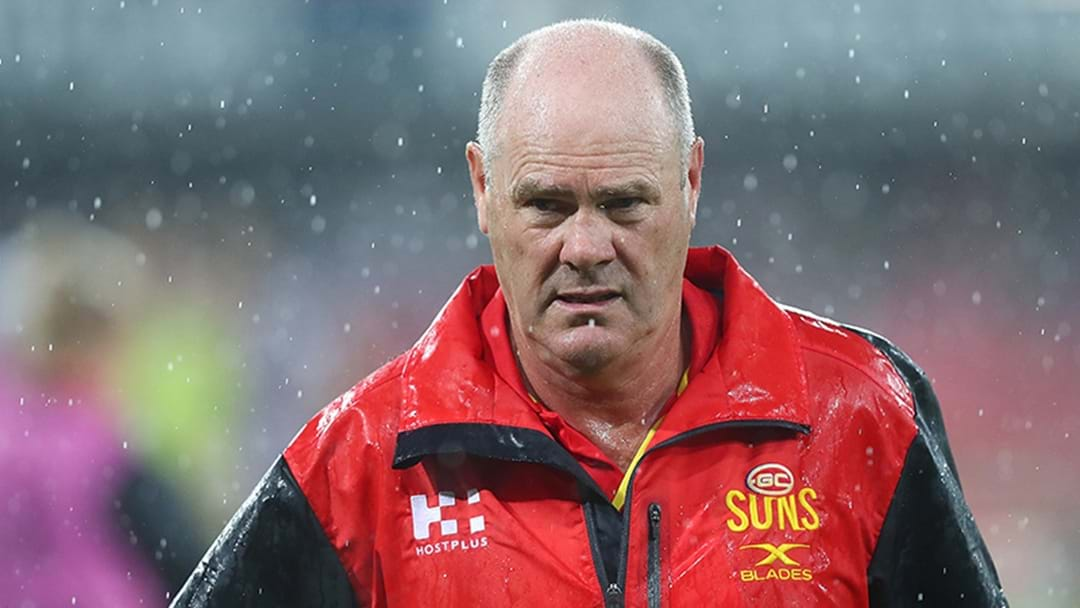 A Current Coach Is Now The Raging-Hot Favourite For Gold Coast Job
