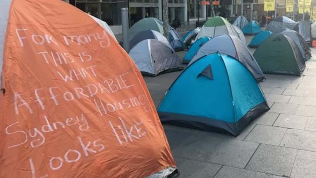 Sydney's Tent City Crisis Escalates As State Government Forced To Intervene
