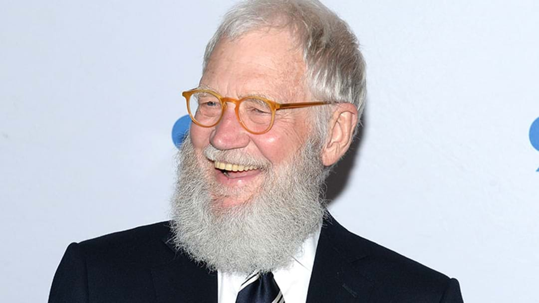 David Letterman Returning To TV