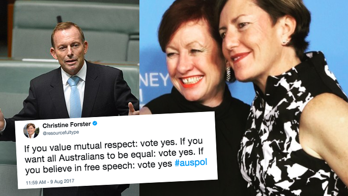 Abbott's electorate support same-sex marriage