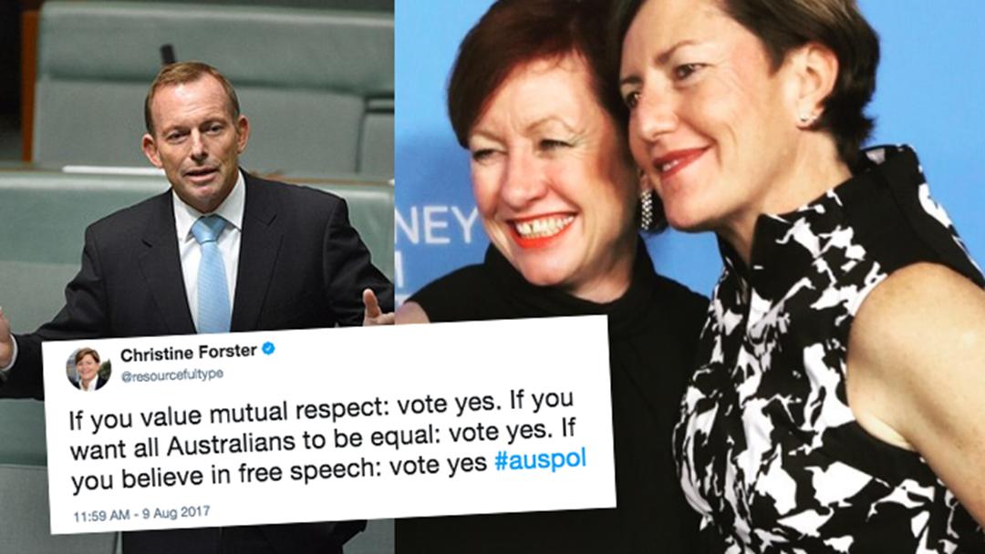 Tony Abbott's Sister Is Trolling Him On Twitter Like A Champ