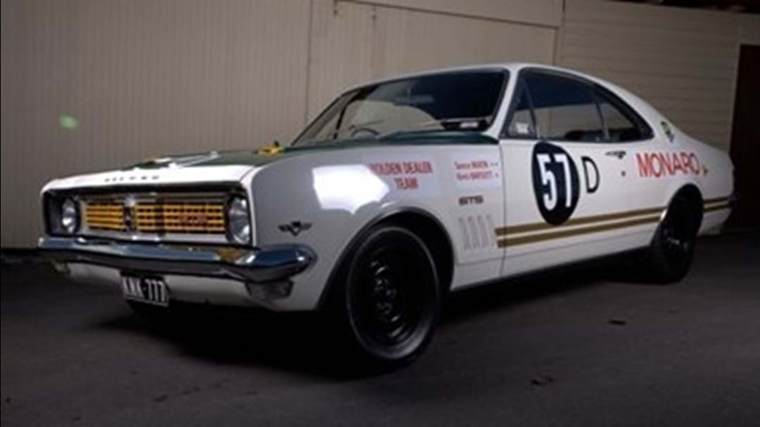The First Ever Holden Dealer Team Monaro Could Be Yours