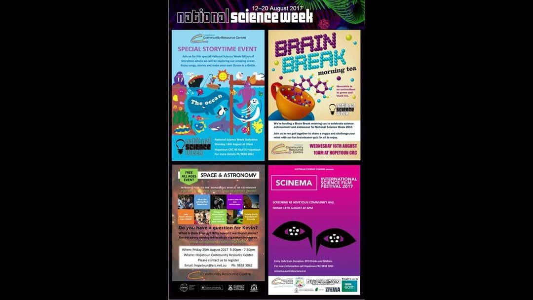 Science Week in Hopetoun