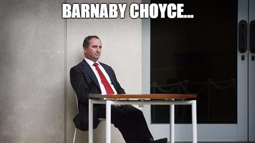 "Barnaby ""Choyce"" Memes Are Spreading Like Wildfire"