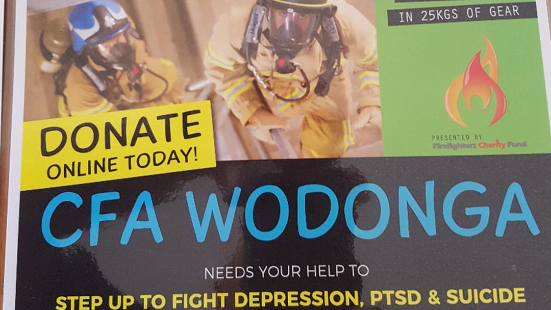 Wodonga CFA Firefighter Stair Climb