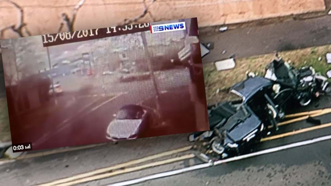 CCTV Emerges Of Dramatic Brighton Crash