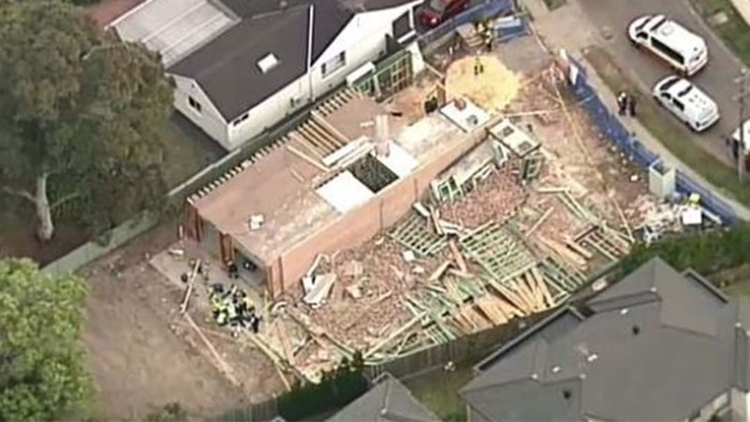 One Man Has Died In Sydney After A Wall Collapsed On Him Due To Strong Winds
