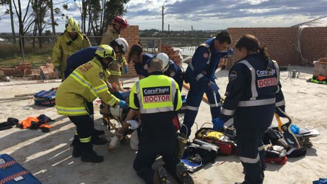 Man Placed In Induced Coma After Kellyville Wall Collapse