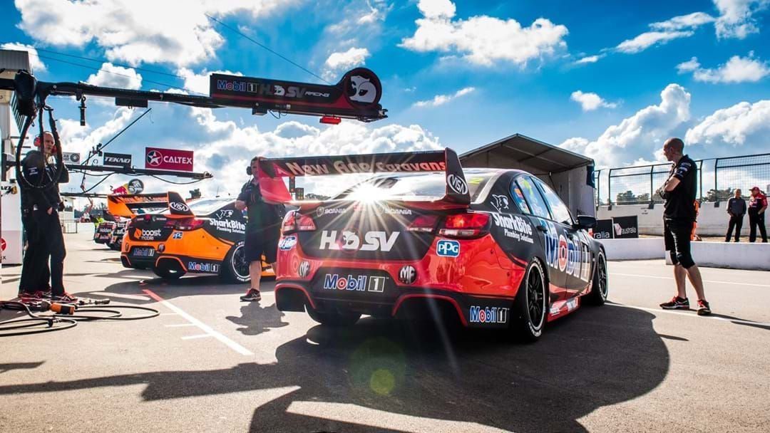Go On A Hot Lap Of Sydney Motorsport Park With James Courtney