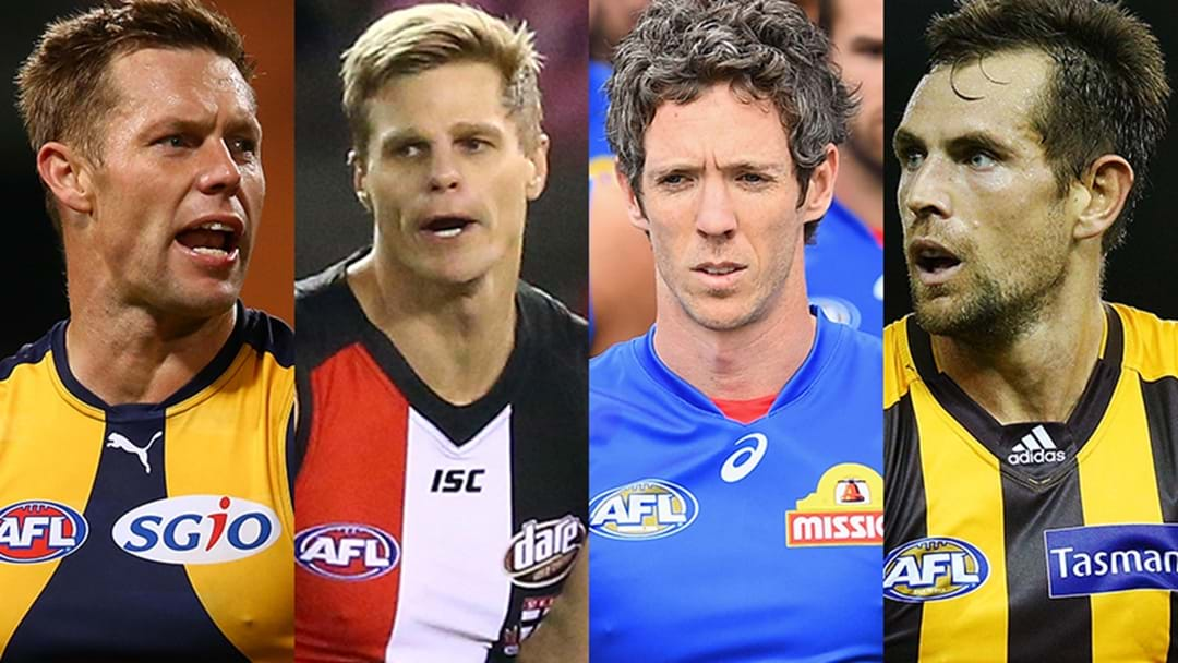 2017 AFL Retirements And Delistings