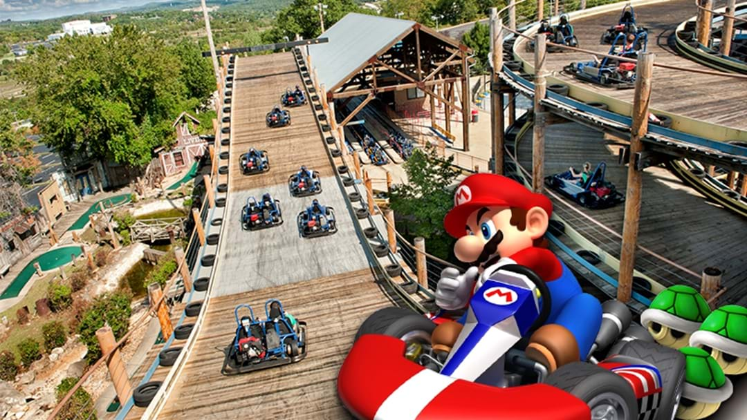 Save Your Banana Peels, A Mario Kart-Inspired Go Kart Track Has Opened Up