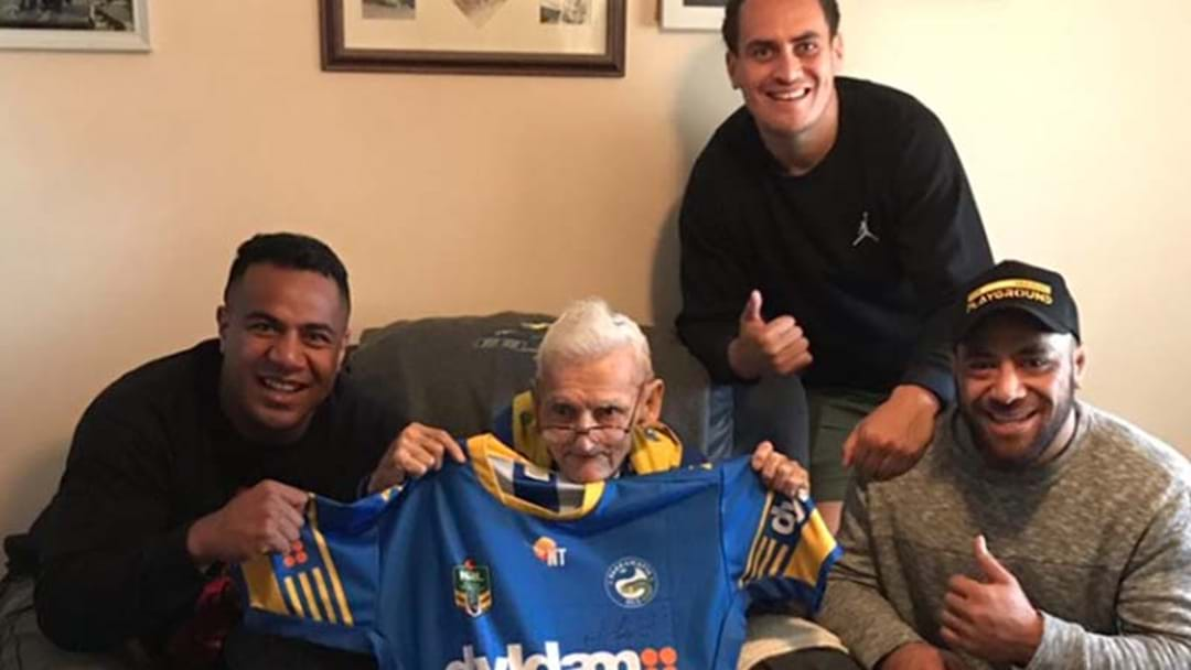 Heartwarming Gesture From The Eels Makes This 81-Year-Old's Day