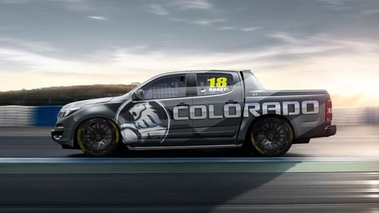 Holden reveals Colorado race ute