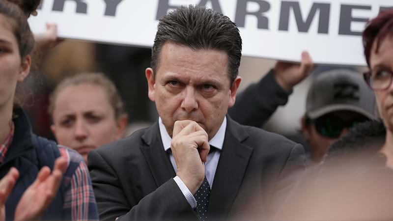 Senator Nick Xenophon announces that, yes, he is a British citizen