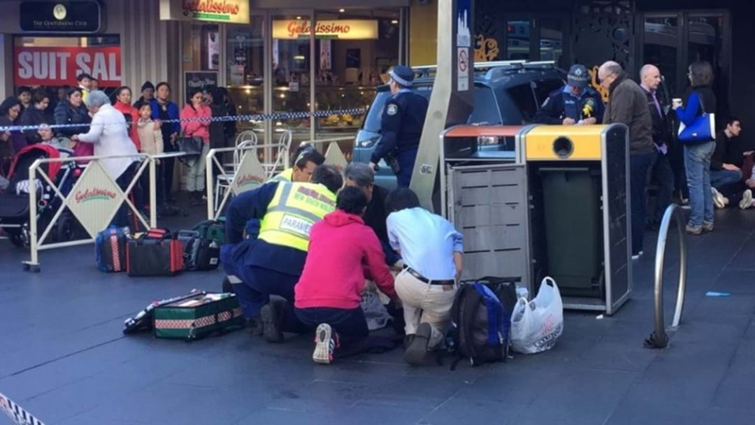 BREAKING: Car Crashes Into A Crowd In Chatswood