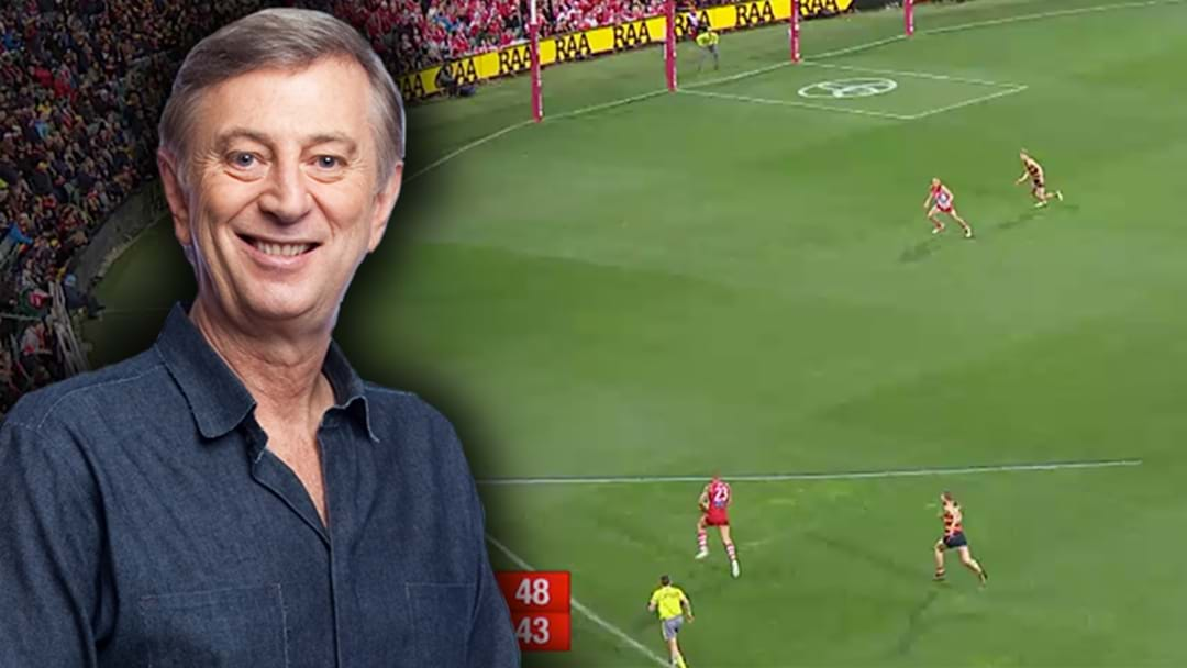 Dennis Cometti Responds To That Shout Out From Bruce McAvaney