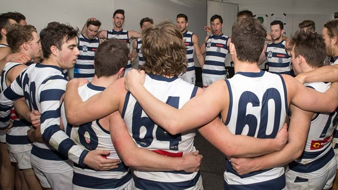 Geelong Player Racks Up A Lazy 23 Tackles In The VFL