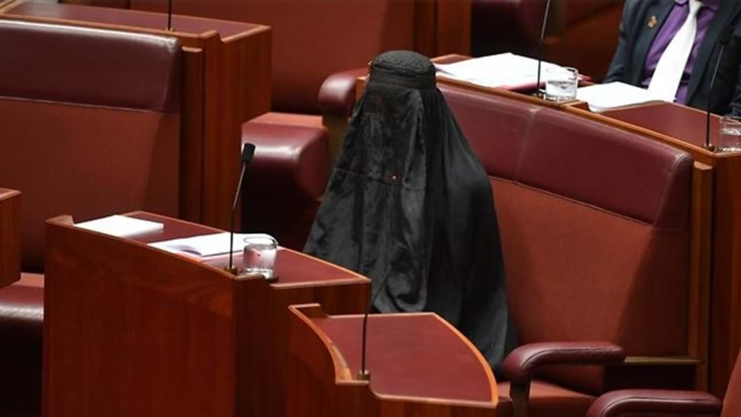 One Nation Up In The Polls After Pauline's Burqa Stunt