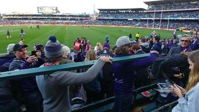 Freo Fans In Hot Water Over Seat Stealing