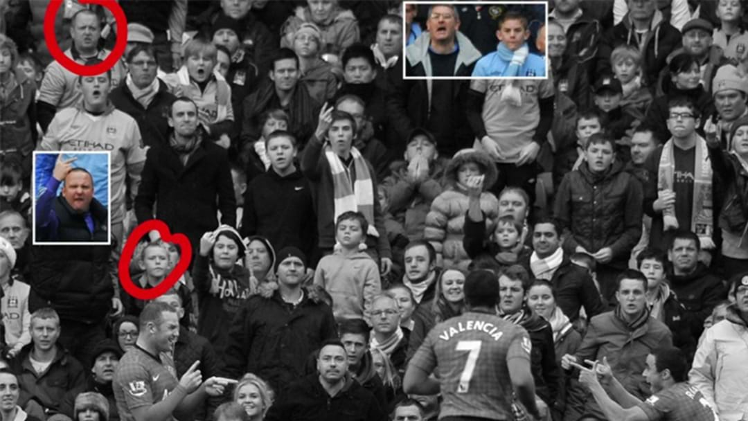 Ridiculous Photos Capture The Same Fans Reacting To Wayne Rooney Scoring 4 Years Apart