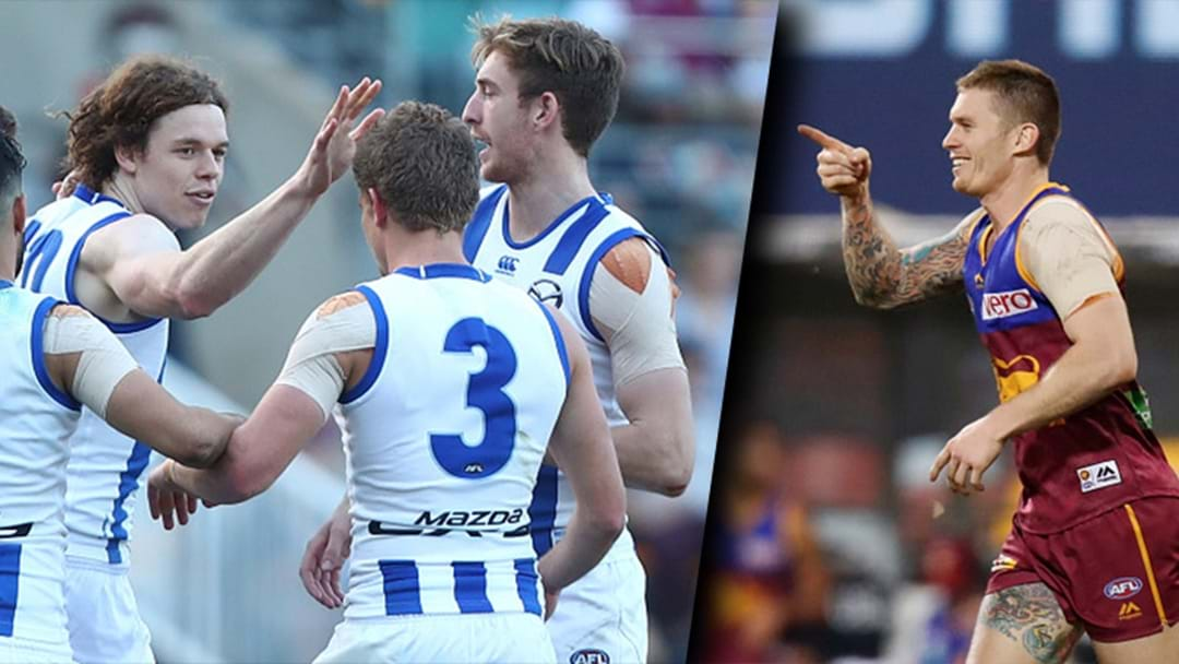 Either North Melbourne Or Brisbane Are The Winners Or Losers Of The Cam Rayner Cup Depending On How You Look At It