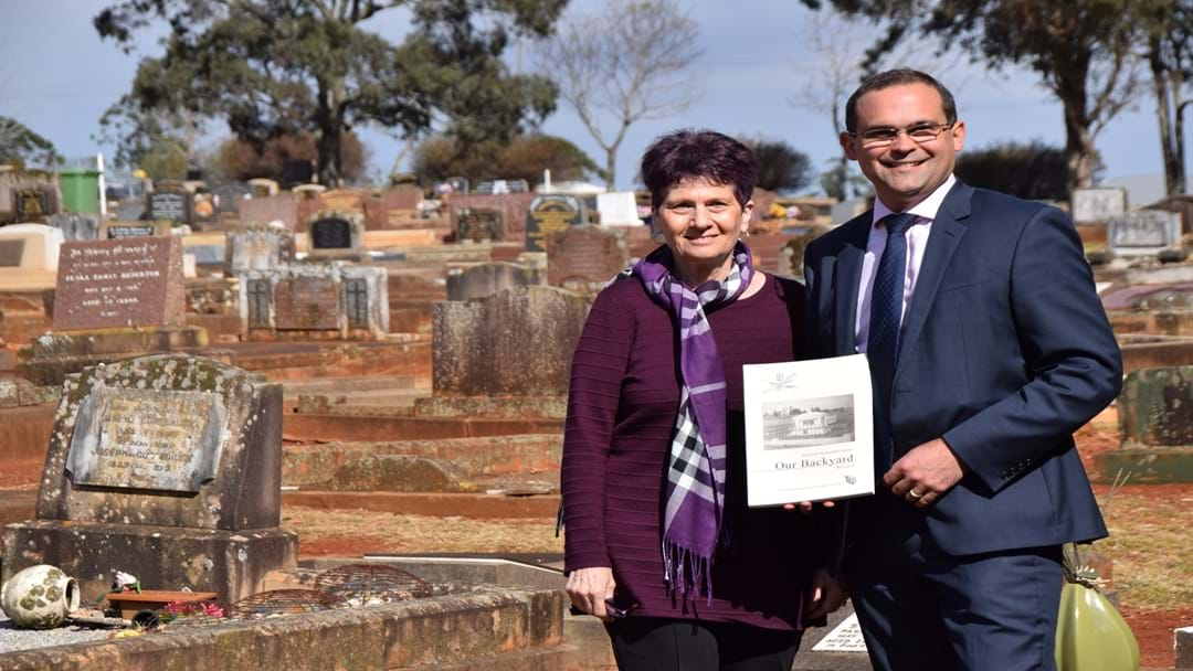 Family Historians Document Who is Buried in Our Backyard