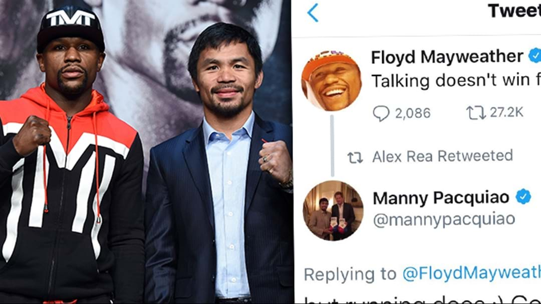 Manny Pacquiao Deletes Tweet Having A Dig At Floyd Mayweather