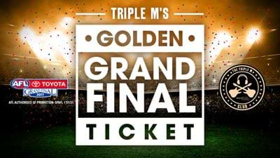 Golden Grand Final Ticket!